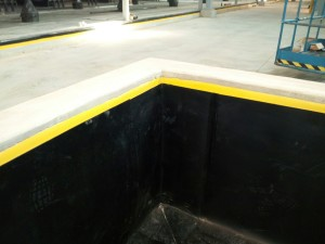 waste treatment storage liner 1